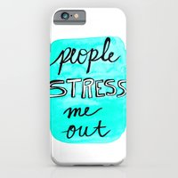 People Stress Me Out iPhone 6 Slim Case