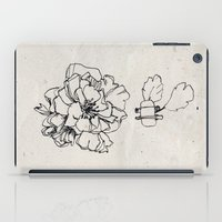 Flower Hairpin iPad Case