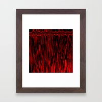 Bloody Camera Framed Art Print