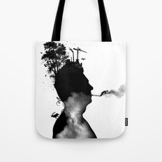 URBAN BLACK MAN Tote Bag