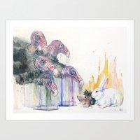 Rainmakers Art Print