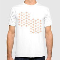 Peachy Infinity Mens Fitted Tee White SMALL