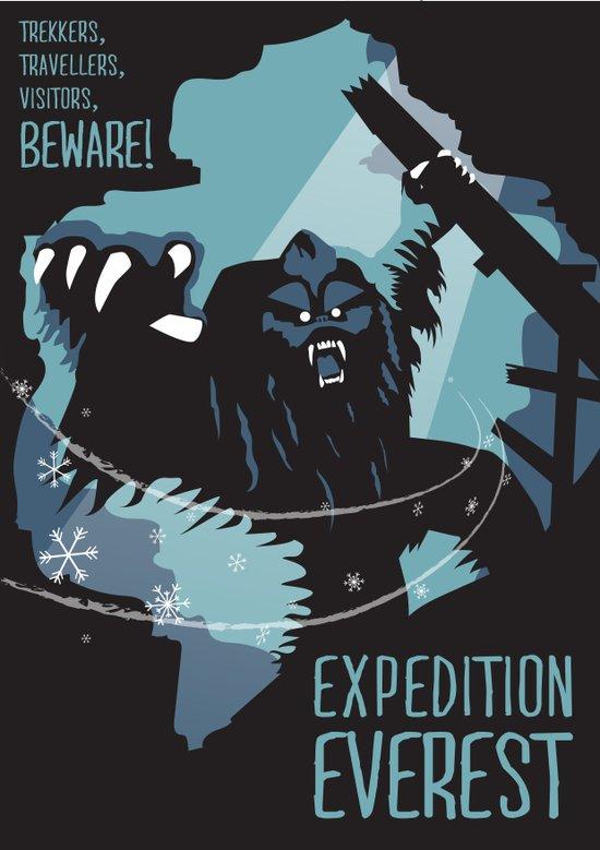 expedition everest yeti painting