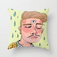 Sad Enlightenment Throw Pillow