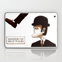 The Ministry of Silly Walks Laptop & iPad Skin