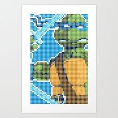 Teenage Mutant Ninja Turtles - Leonardo Art Print