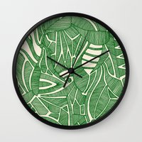 - green hope - Wall Clock