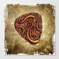 HAIR PICK Canvas Print