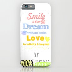 {ENG} SMILE · DREAM · LOVE Slim Case iPhone 6s
