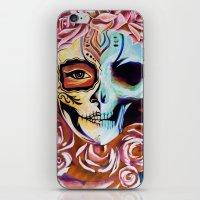 SkullFace Inverted iPhone & iPod Skin
