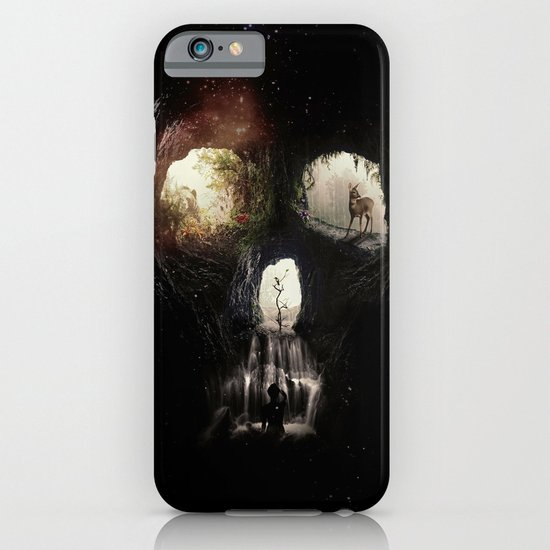 Cave Skull iPhone & iPod Case
