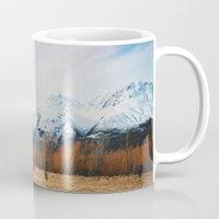 Peaceful New Zealand mountain landscape Mug
