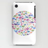iPhone 3Gs & iPhone 3G Cases featuring Umbrellas. by Elena O'Neill