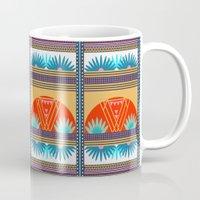 Multi Geometric Love Mug