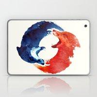 Ying Yang Laptop & iPad Skin