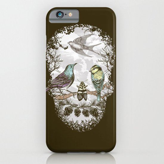Nature's Skull II iPhone & iPod Case
