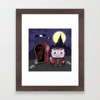 Halloween Sucka! Framed Art Print