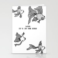 Love: It's In the Eyes Stationery Cards