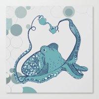 Octopus ! Canvas Print