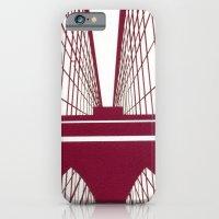 iPhone & iPod Case featuring Brooklyn Bridge by Melinda Zoephel