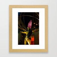 Atlas By Night Framed Art Print