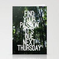 Next Thursday Stationery Cards