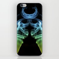 Smoke Photography #25 iPhone & iPod Skin