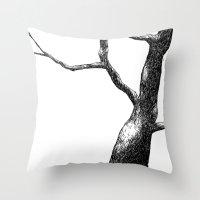 The Tree Throw Pillow