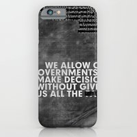 iPhone & iPod Case featuring The Facts by WeTheConspirators