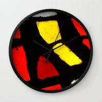 Light And Color Wall Clock