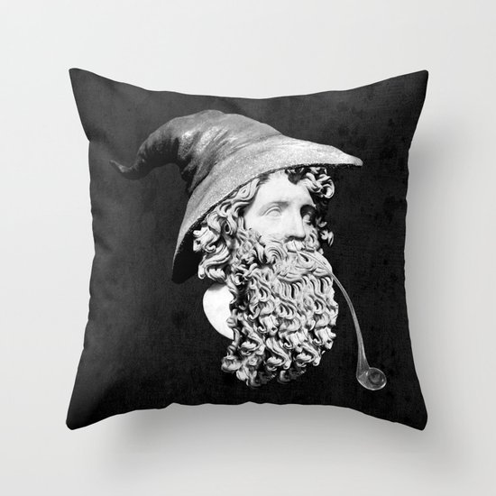 Gandalf the Great Throw Pillow