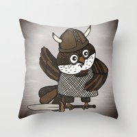 The Wisest Viking Throw Pillow