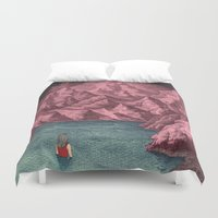 Swimming in your mind Duvet Cover