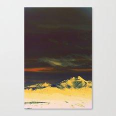 Inverted Peaks Canvas Print