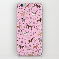 Horse Pattern iPhone & iPod Skin