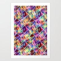 Jimi's Tile Art Print