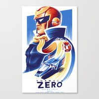 Formula Zero (Open Edition) Canvas Print