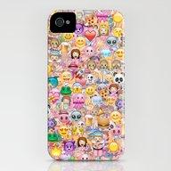 Emoji / Emoticons iPhone (4, 4s) Slim Case