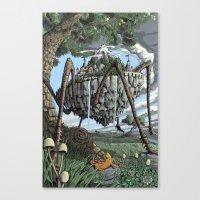 Spiderback Mountain Canvas Print