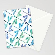 Damselfly Formation Stationery Cards
