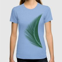 ARECALES II Womens Fitted Tee Athletic Blue SMALL