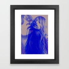 Double Kate Blues (kate … Framed Art Print