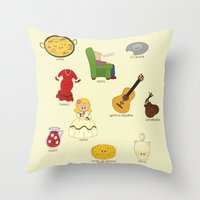 Spain Is Different Throw Pillow
