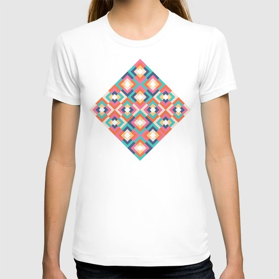 Colorful Geometric T-shirt