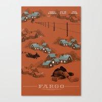 Fargo Movie Poster Canvas Print