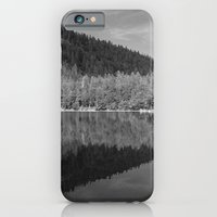 iPhone & iPod Case featuring Lake Reflection by aertstoon