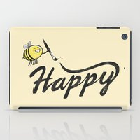 Bee Happy iPad Case