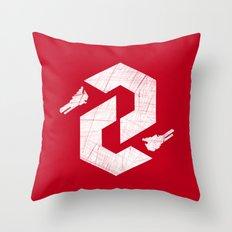 Thunderforce Throw Pillow