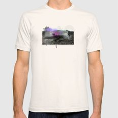 Spider House Mens Fitted Tee Natural SMALL