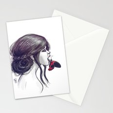 When You Sleep Stationery Cards